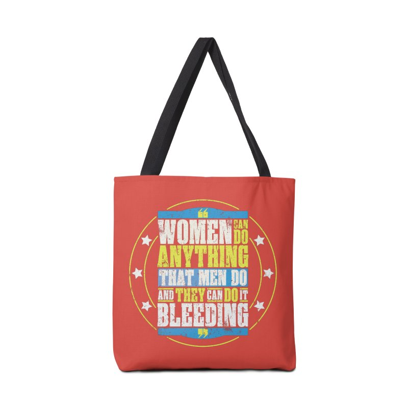 Bloody Women Accessories Tote Bag Bag by monsieurgordon's Artist Shop