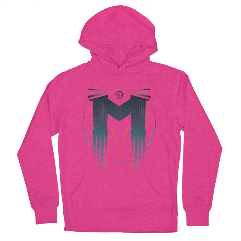 M Women's French Terry Pullover Hoody by monsieurgordon's Artist Shop