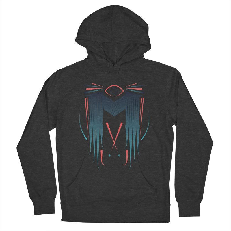 M Men's French Terry Pullover Hoody by monsieurgordon's Artist Shop