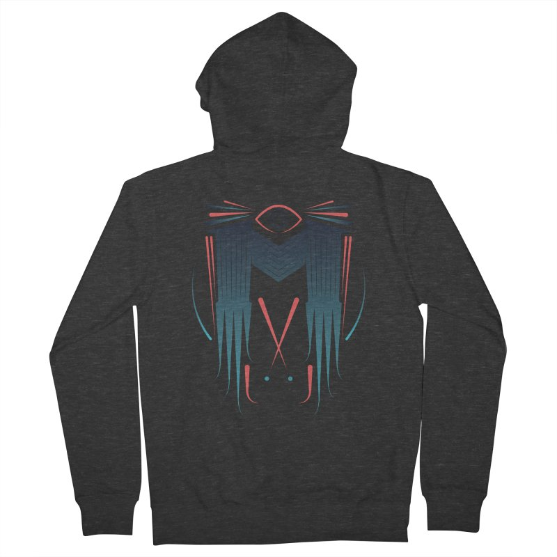 M Men's French Terry Zip-Up Hoody by monsieurgordon's Artist Shop