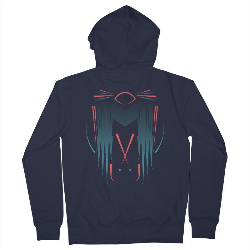 M Men's Zip-Up Hoody by monsieurgordon's Artist Shop