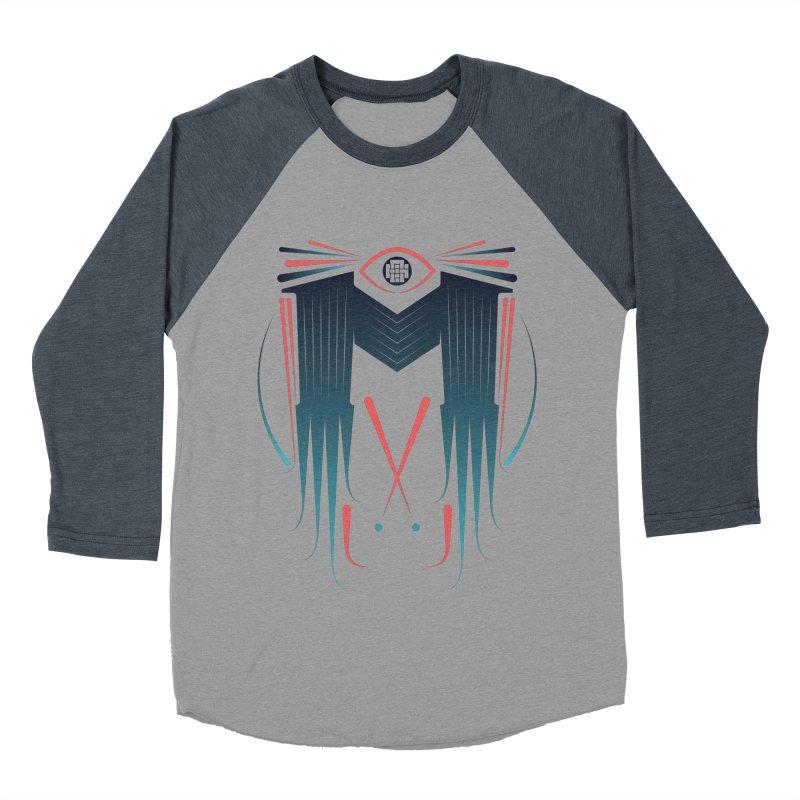 M Women's Baseball Triblend Longsleeve T-Shirt by monsieurgordon's Artist Shop