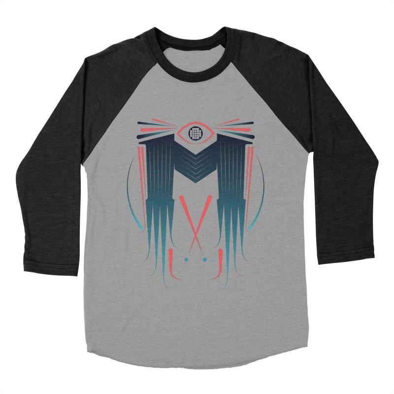 M Men's Baseball Triblend Longsleeve T-Shirt by monsieurgordon's Artist Shop