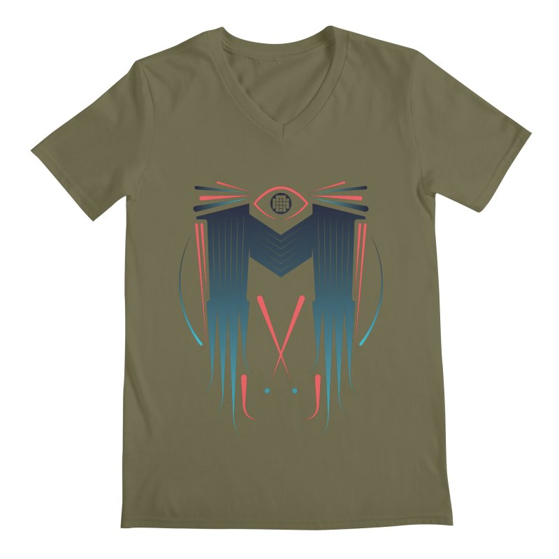 M Men's Regular V-Neck by monsieurgordon's Artist Shop