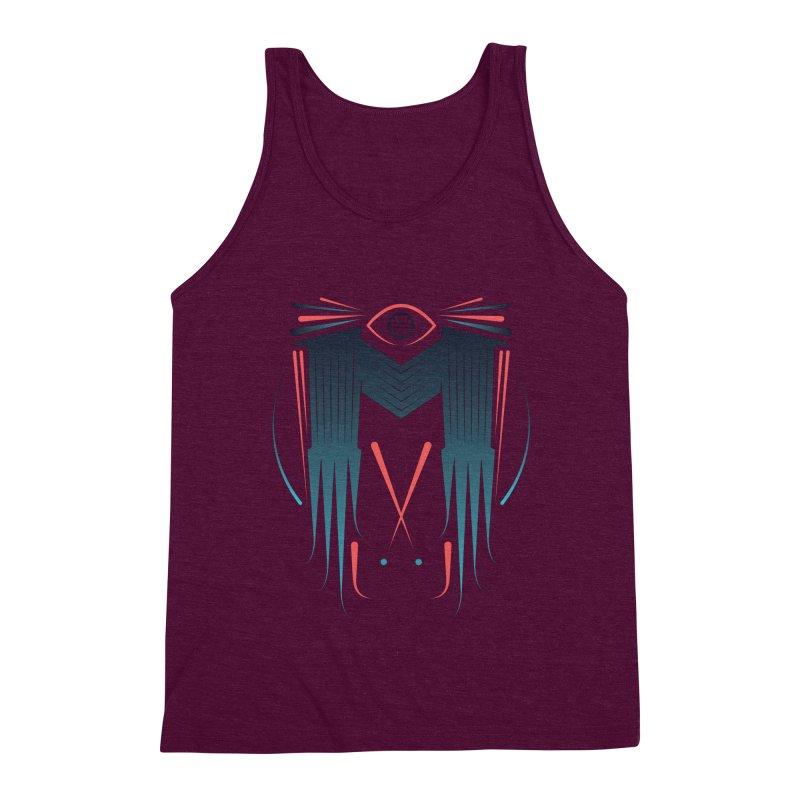 M Men's Triblend Tank by monsieurgordon's Artist Shop