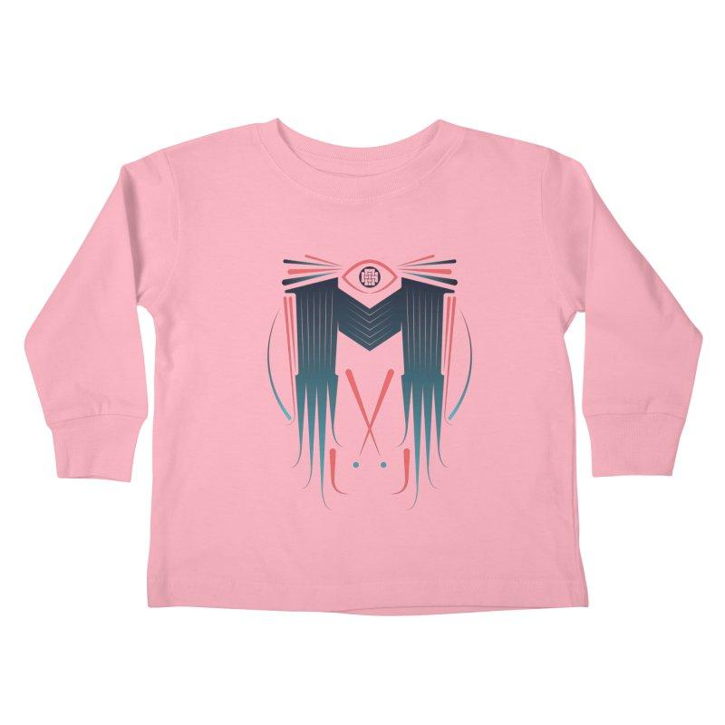 M Kids Toddler Longsleeve T-Shirt by monsieurgordon's Artist Shop