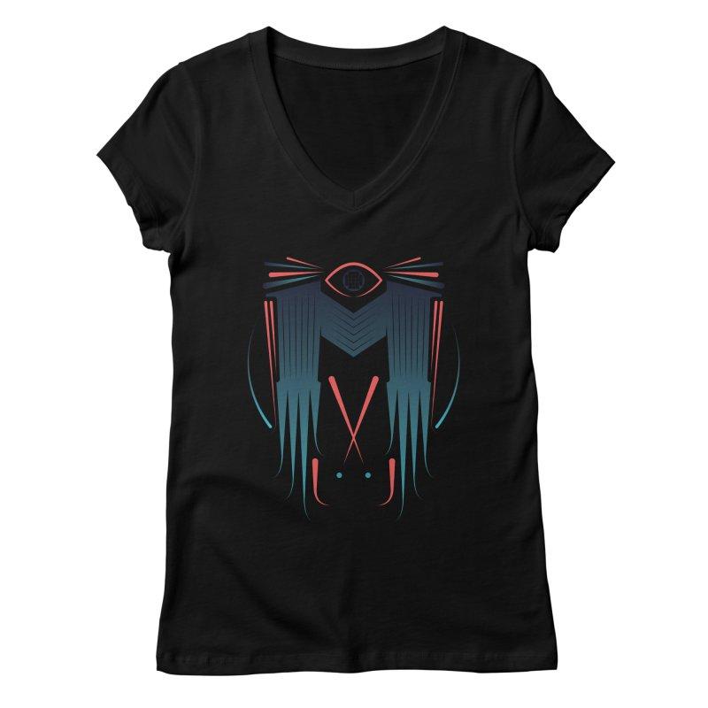 M Women's Regular V-Neck by monsieurgordon's Artist Shop