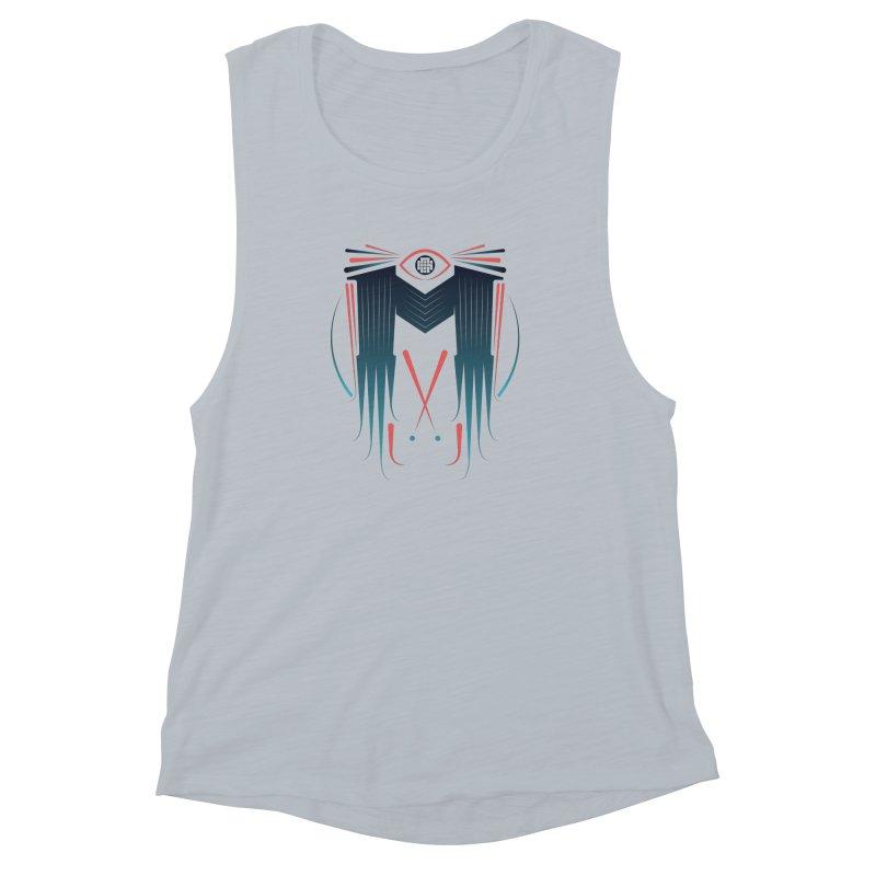 M Women's Muscle Tank by monsieurgordon's Artist Shop