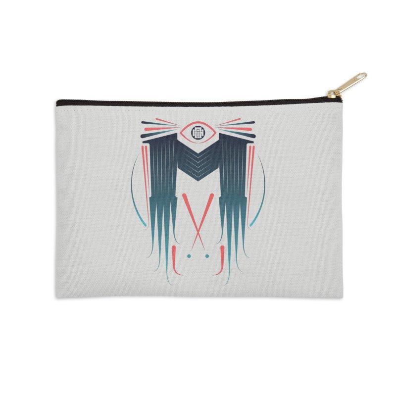 M Accessories Zip Pouch by monsieurgordon's Artist Shop