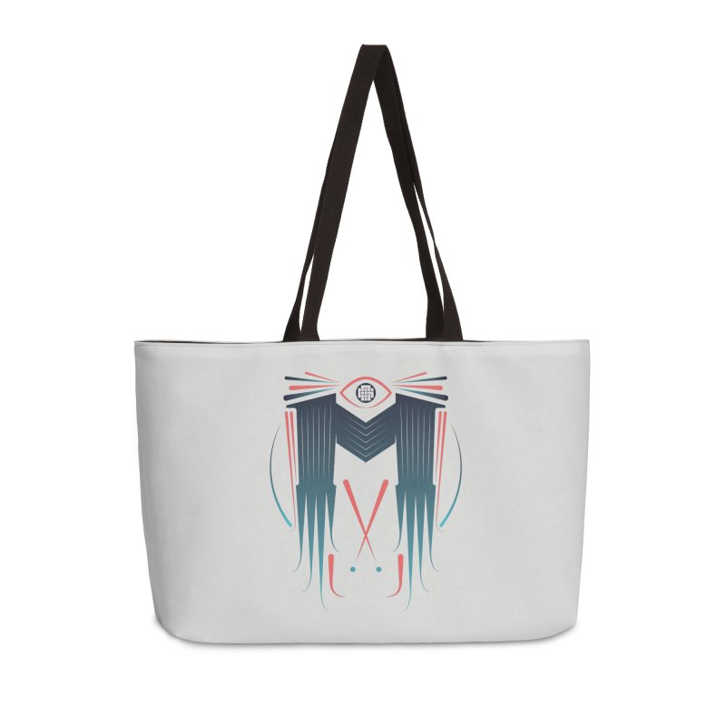 M Accessories Weekender Bag Bag by monsieurgordon's Artist Shop