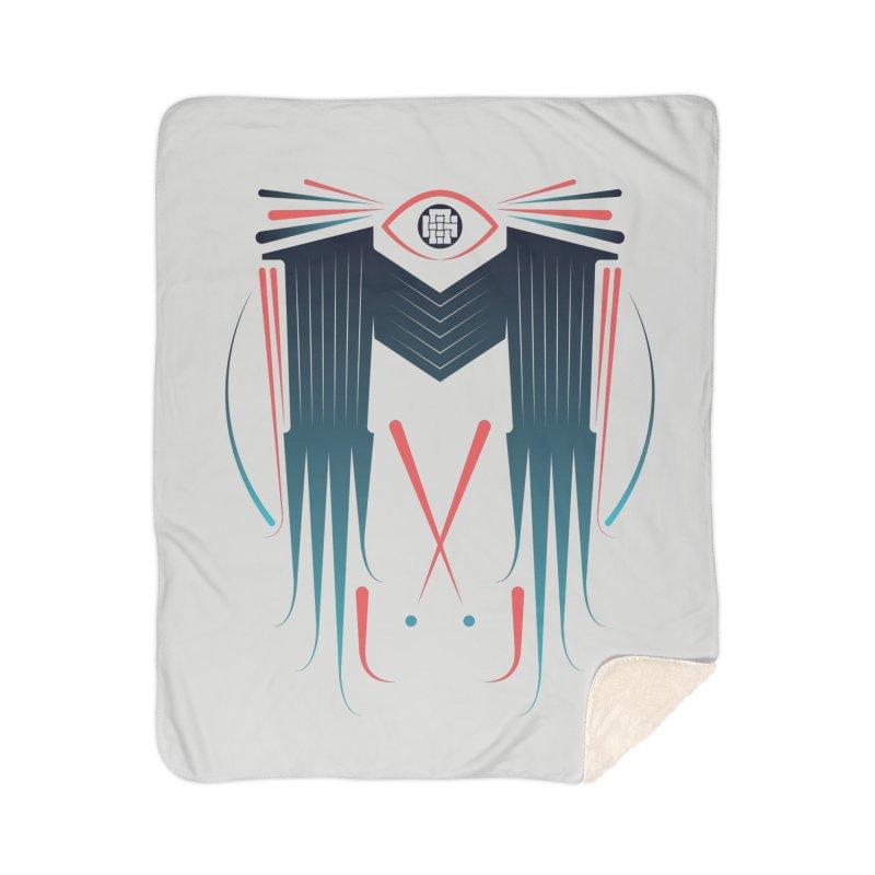 M Home Sherpa Blanket Blanket by monsieurgordon's Artist Shop