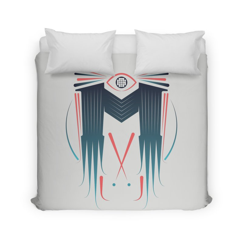 M Home Duvet by monsieurgordon's Artist Shop