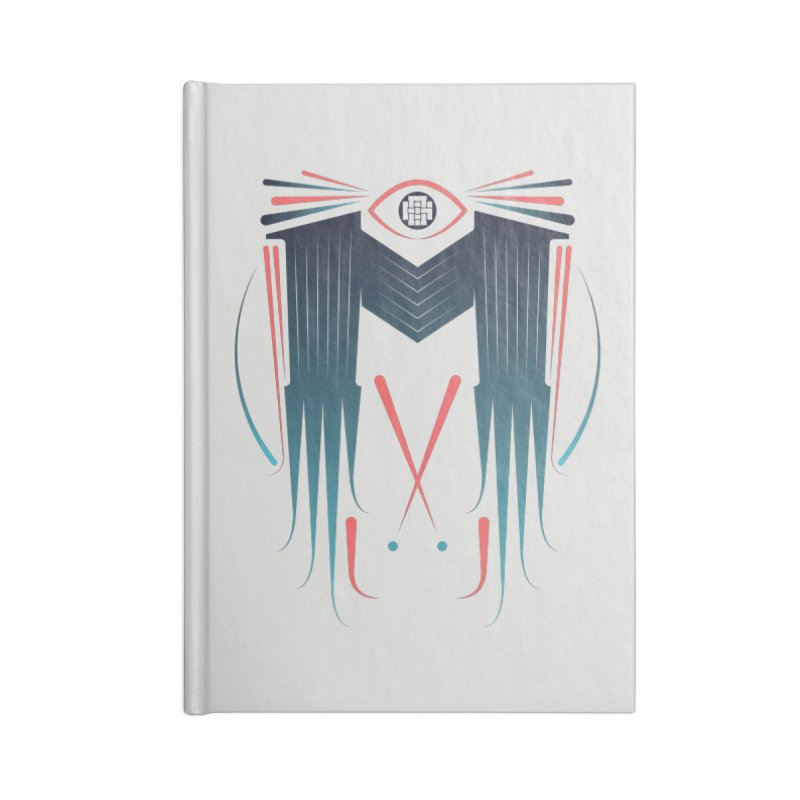 M Accessories Blank Journal Notebook by monsieurgordon's Artist Shop
