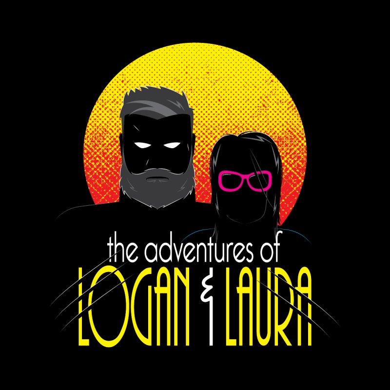 Logan & Laura Kids T-Shirt by monsieurgordon's Artist Shop