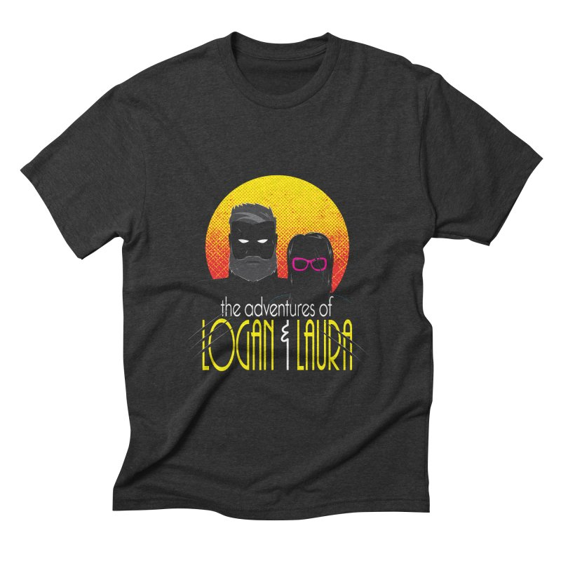 Logan & Laura Men's Triblend T-shirt by monsieurgordon's Artist Shop