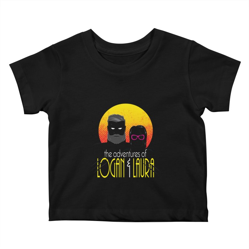 Logan & Laura Kids Baby T-Shirt by monsieurgordon's Artist Shop