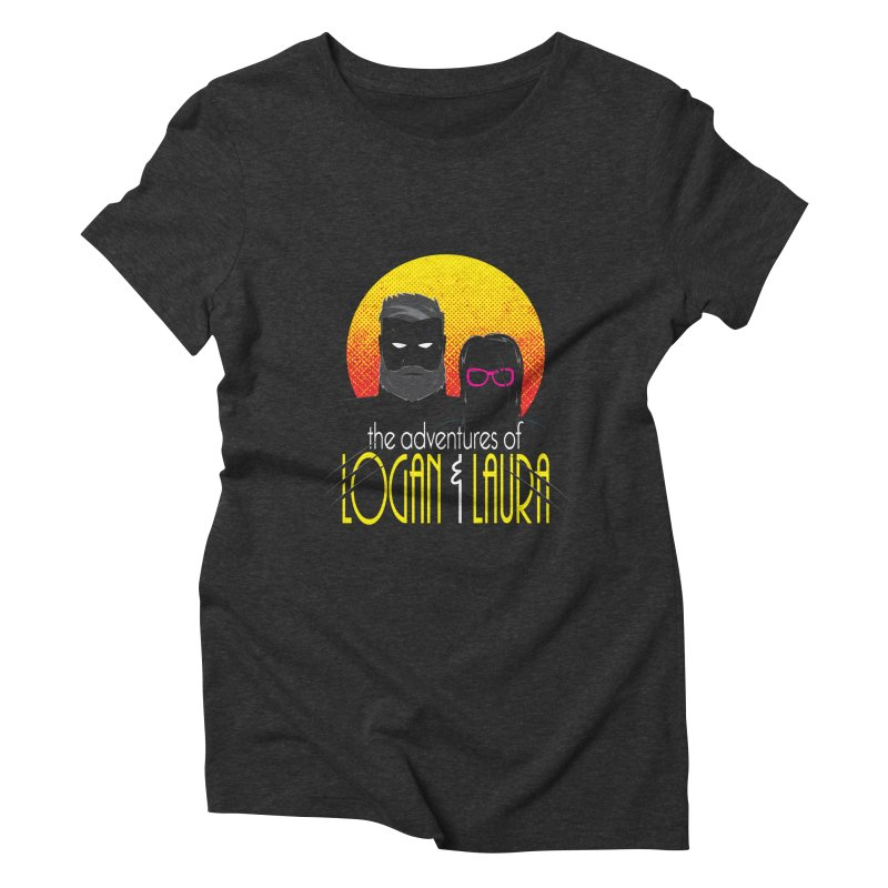 Logan & Laura Women's Triblend T-Shirt by monsieurgordon's Artist Shop