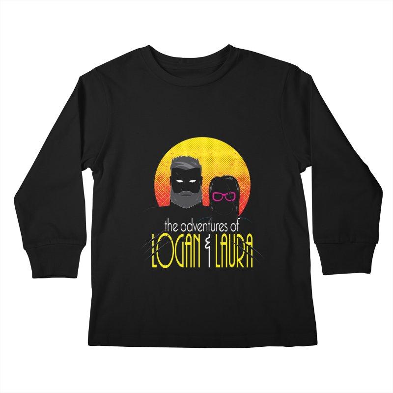 Logan & Laura Kids Longsleeve T-Shirt by monsieurgordon's Artist Shop