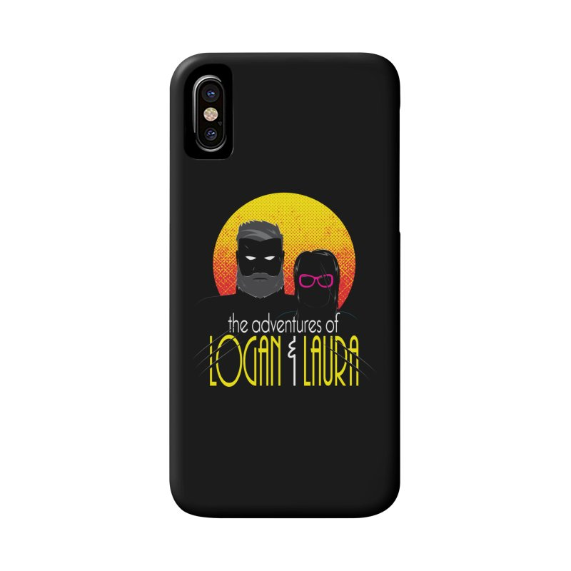 Logan & Laura Accessories Phone Case by monsieurgordon's Artist Shop