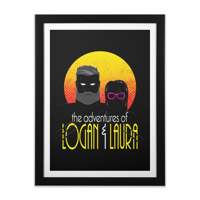Logan & Laura Home Framed Fine Art Print by monsieurgordon's Artist Shop