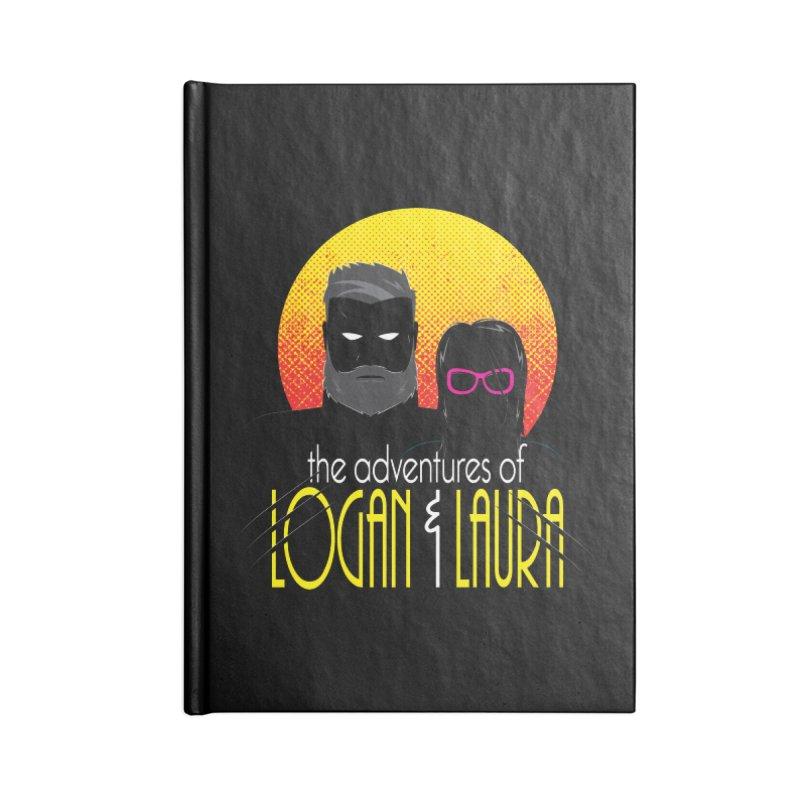 Logan & Laura Accessories Lined Journal Notebook by monsieurgordon's Artist Shop