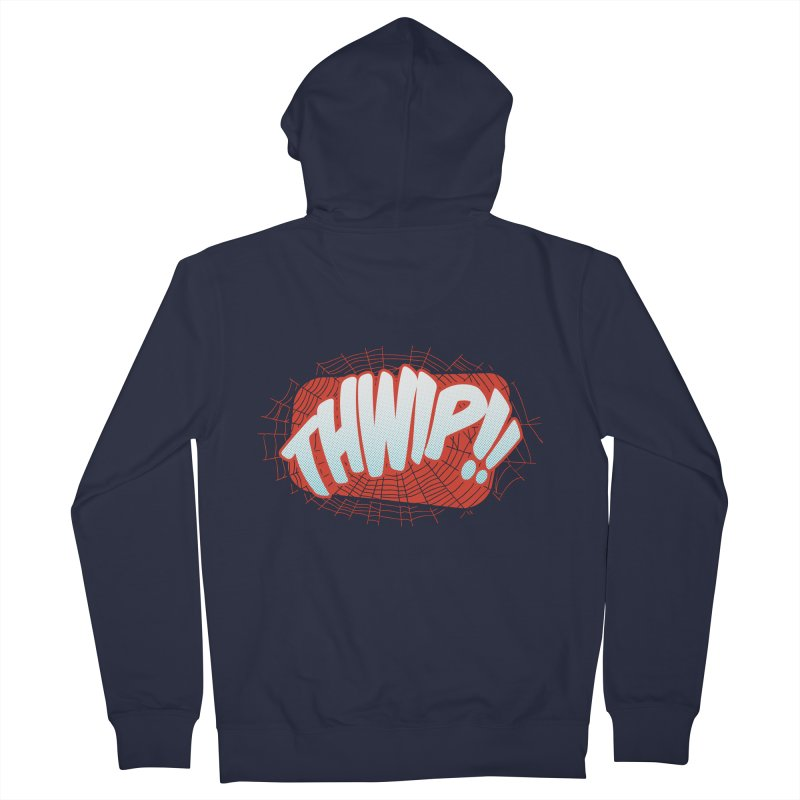 THWIP!! Women's Zip-Up Hoody by monsieurgordon's Artist Shop