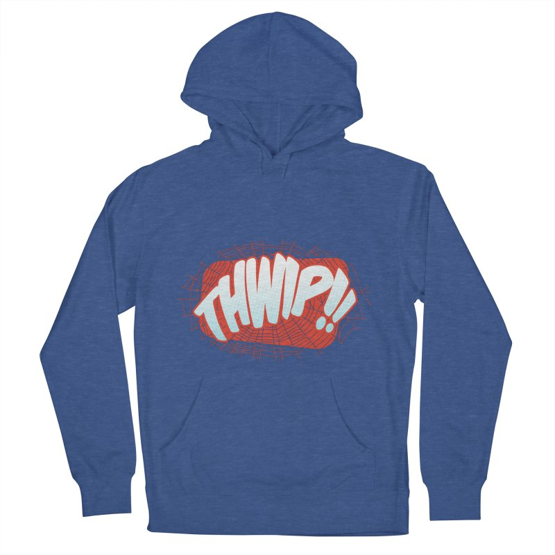THWIP!! Men's French Terry Pullover Hoody by monsieurgordon's Artist Shop
