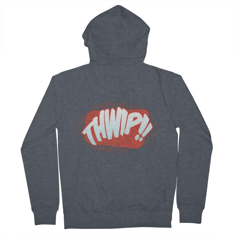 THWIP!! Women's Zip-Up Hoody by monsieurgordon's Artist Shop