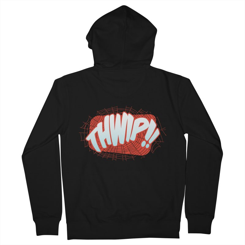 THWIP!! Women's French Terry Zip-Up Hoody by monsieurgordon's Artist Shop