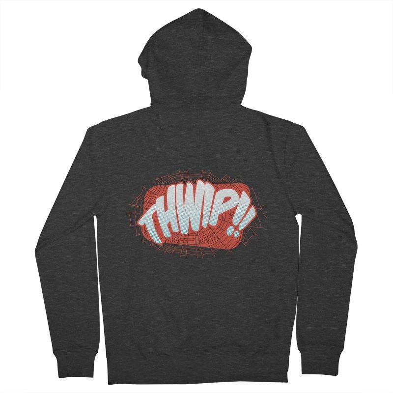 THWIP!! Men's French Terry Zip-Up Hoody by monsieurgordon's Artist Shop