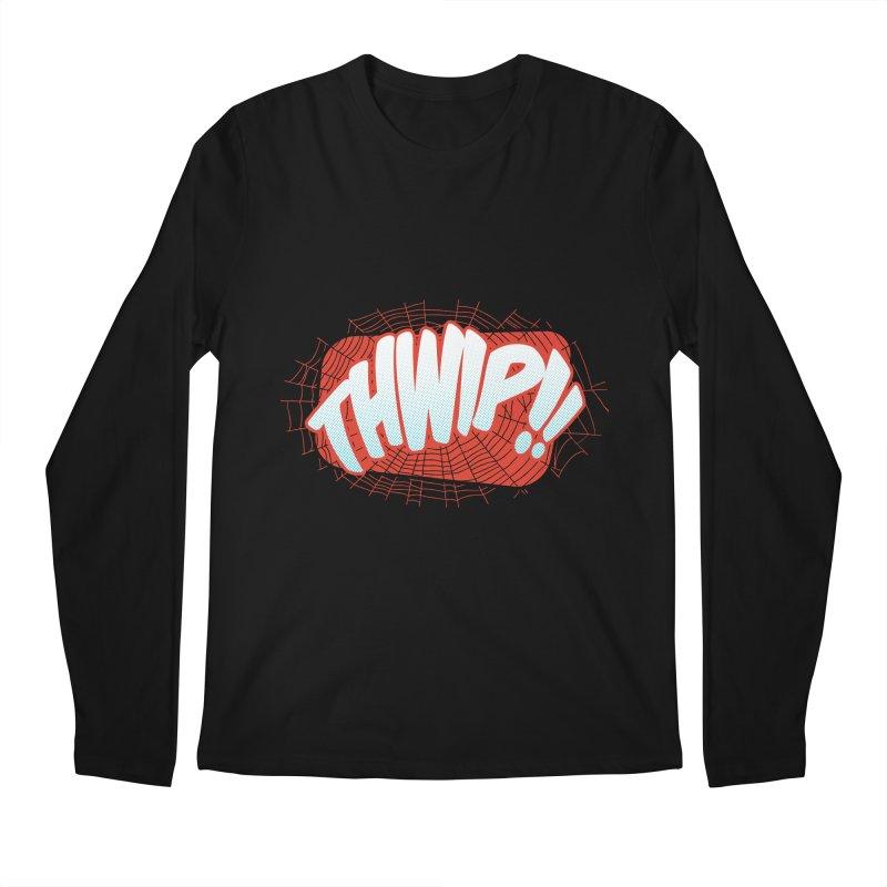 THWIP!! Men's Regular Longsleeve T-Shirt by monsieurgordon's Artist Shop