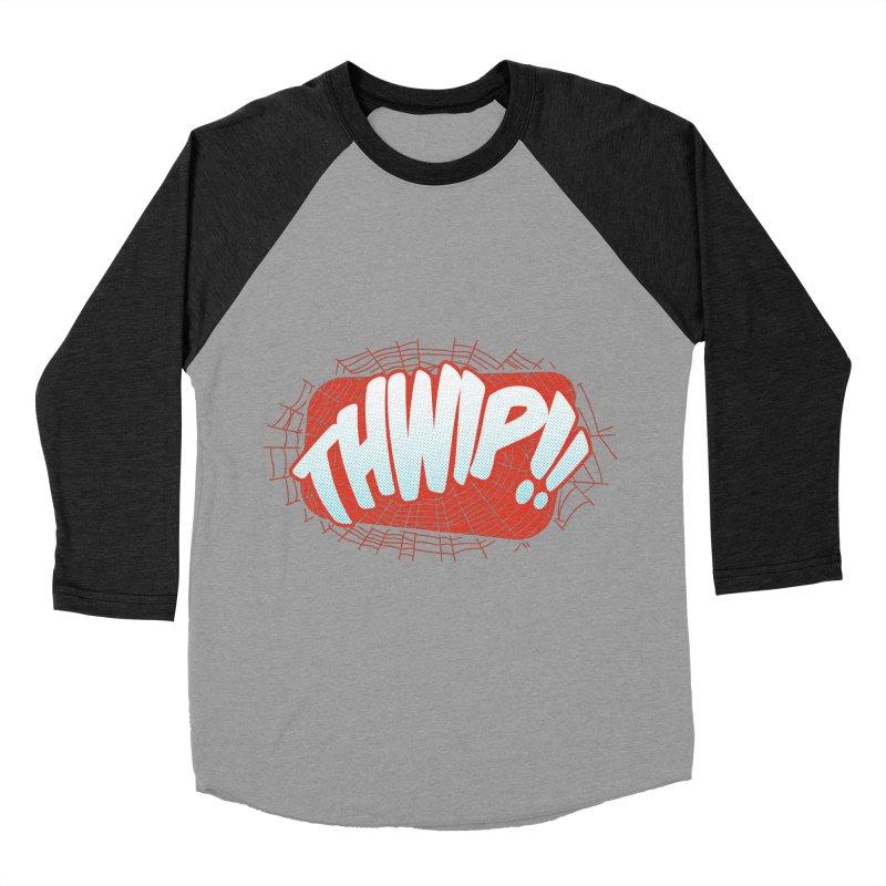 THWIP!! Men's Baseball Triblend Longsleeve T-Shirt by monsieurgordon's Artist Shop