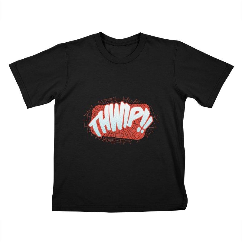 THWIP!! Kids T-Shirt by monsieurgordon's Artist Shop