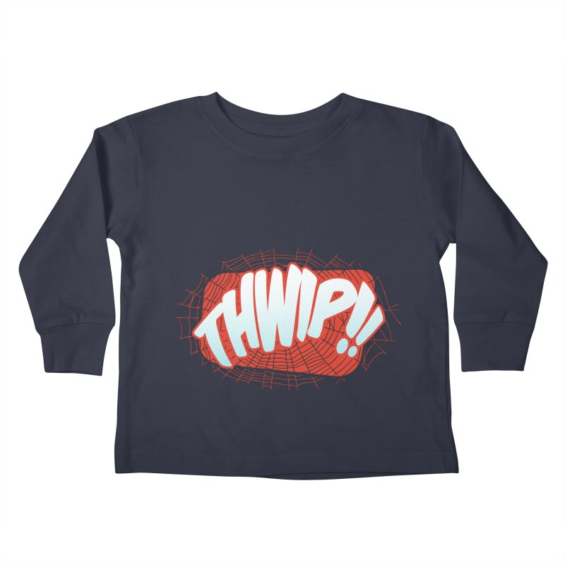 THWIP!! Kids Toddler Longsleeve T-Shirt by monsieurgordon's Artist Shop