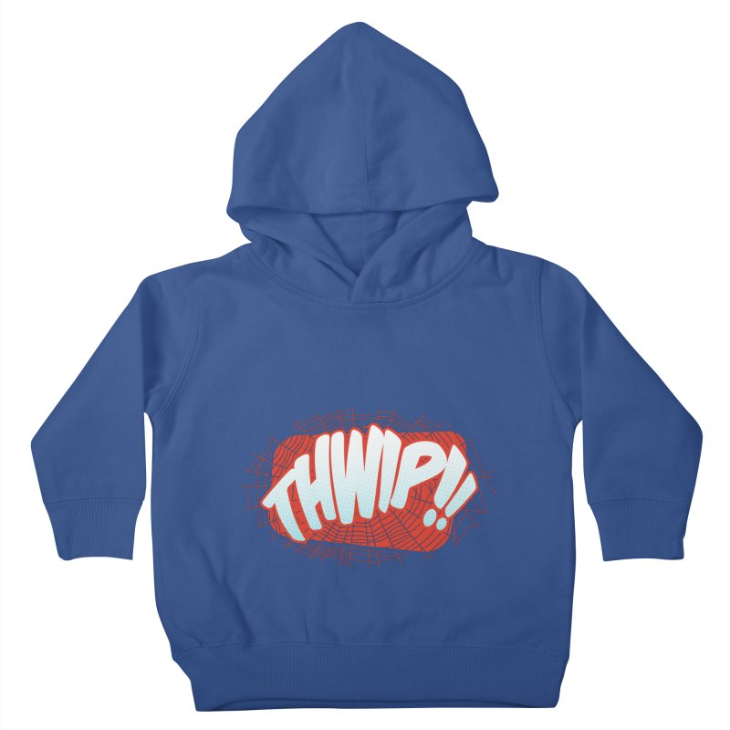 THWIP!! Kids Toddler Pullover Hoody by monsieurgordon's Artist Shop