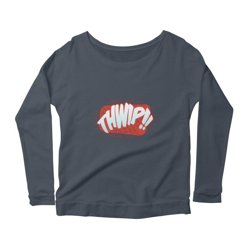 THWIP!! Women's Scoop Neck Longsleeve T-Shirt by monsieurgordon's Artist Shop