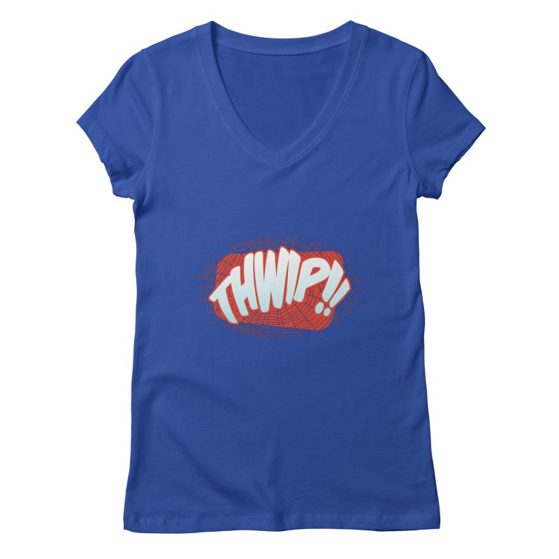 THWIP!! Women's Regular V-Neck by monsieurgordon's Artist Shop