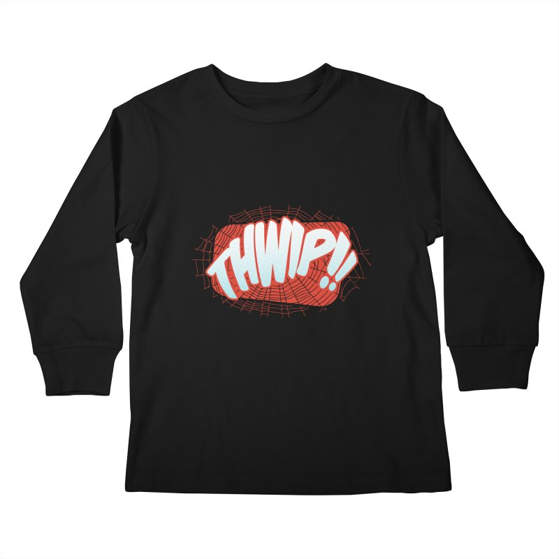 THWIP!! Kids Longsleeve T-Shirt by monsieurgordon's Artist Shop