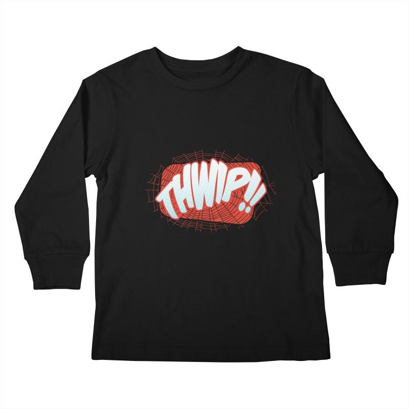 THWIP!! Kids Longsleeve T-Shirt by monsieurgordon's Artist Shop
