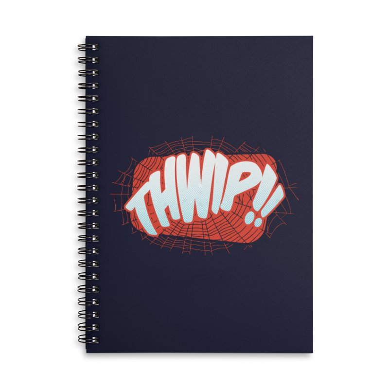 THWIP!! Accessories Lined Spiral Notebook by monsieurgordon's Artist Shop