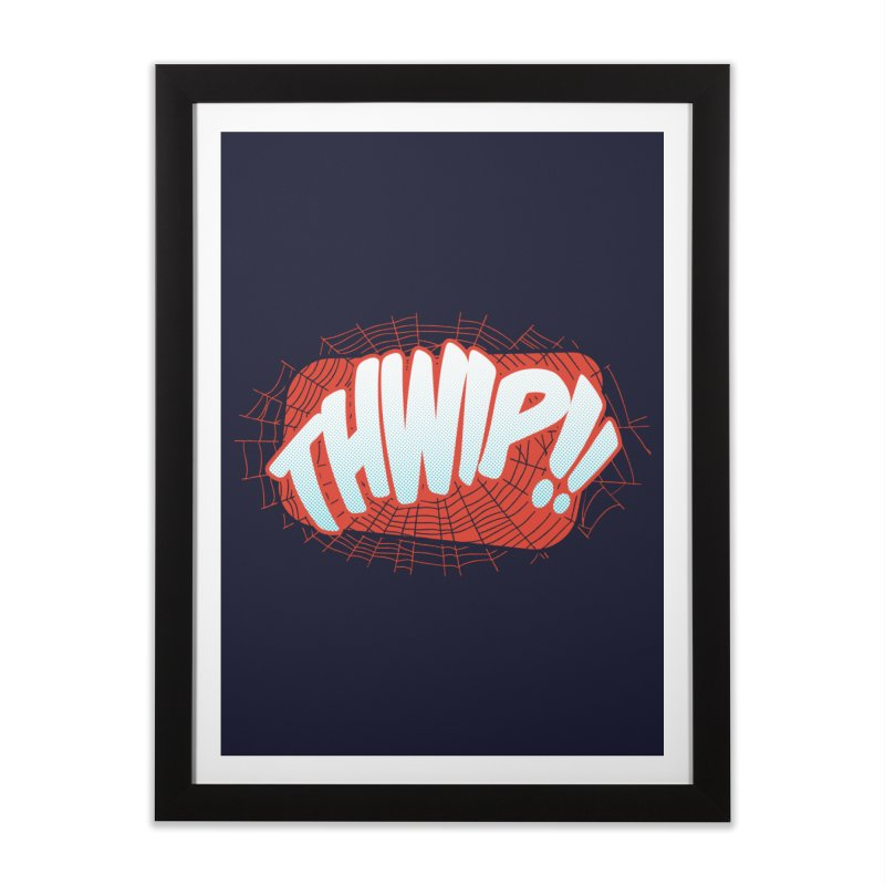THWIP!! Home Framed Fine Art Print by monsieurgordon's Artist Shop