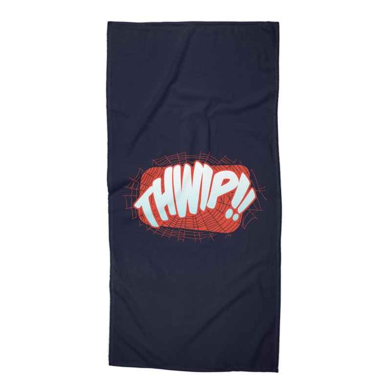 THWIP!! Accessories Beach Towel by monsieurgordon's Artist Shop