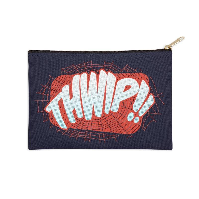 THWIP!! Accessories Zip Pouch by monsieurgordon's Artist Shop