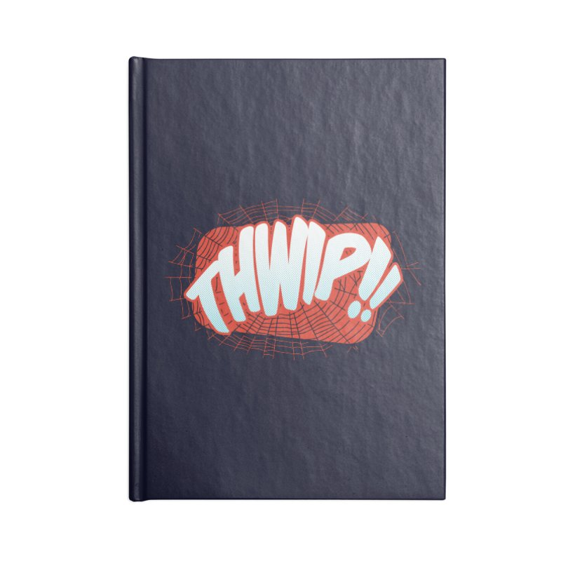 THWIP!! Accessories Lined Journal Notebook by monsieurgordon's Artist Shop