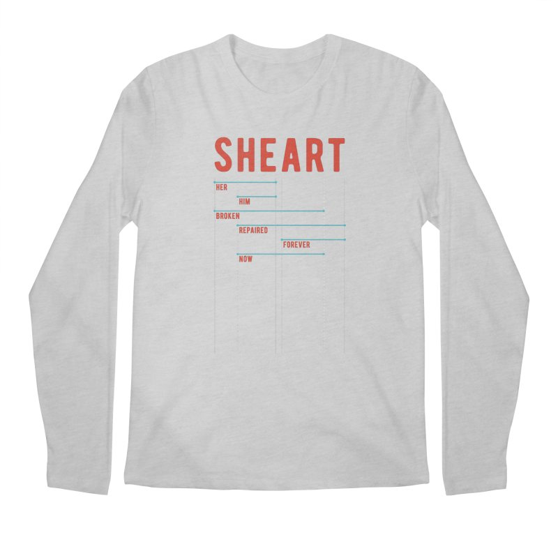 Shear Heart Attack Men's Regular Longsleeve T-Shirt by monsieurgordon's Artist Shop