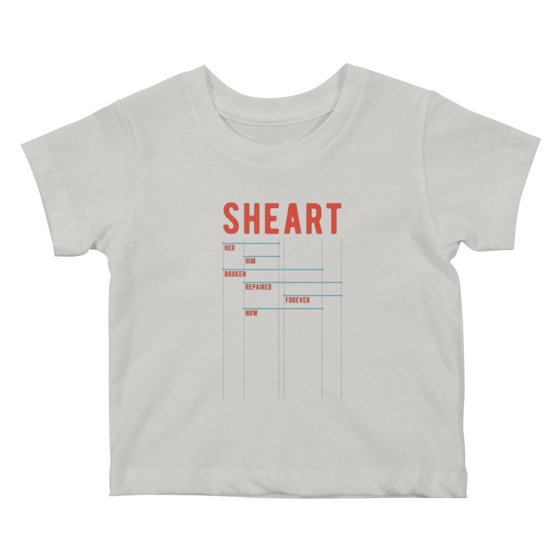 Shear Heart Attack Kids Baby T-Shirt by monsieurgordon's Artist Shop