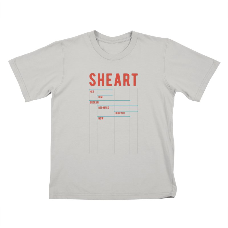 Shear Heart Attack Kids T-Shirt by monsieurgordon's Artist Shop