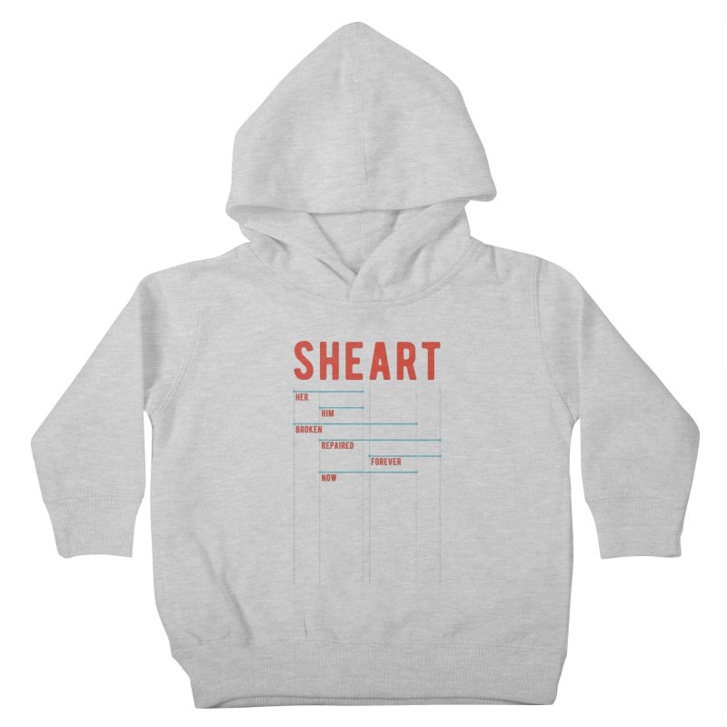 Shear Heart Attack Kids Toddler Pullover Hoody by monsieurgordon's Artist Shop