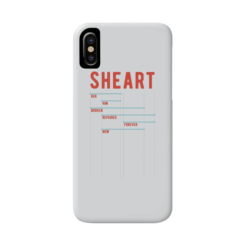 Shear Heart Attack Accessories Phone Case by monsieurgordon's Artist Shop