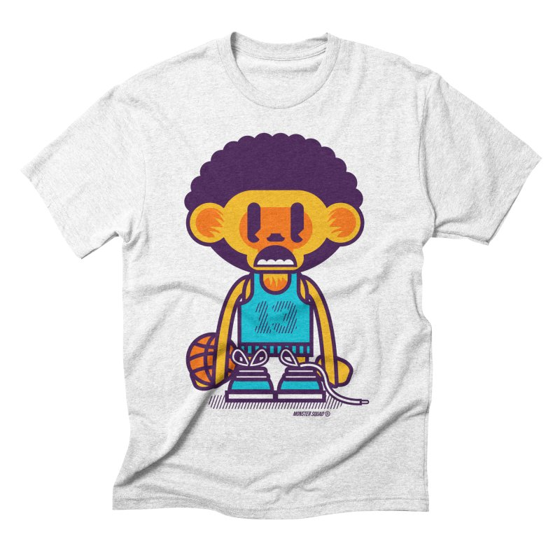 Ghetto Ape Men's Triblend T-shirt by Monster Squad Shop